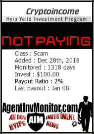 Monitored by agentinvmonitor.com